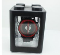 Wholesale Marvel Deadpool watches for children new arrival deadpool Silicone Watch wristwatch gifts for kids wholesales
