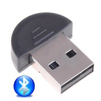 access headsets bluetooth - Wholeasle Smallest Mini USB Bluetooth Adapter V2 EDR Dongle Supports Networking Fax LAN access and Headset