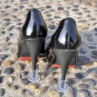 high heel stoppers - 1 Pair Heel Protectors Wedding Grass High Heel Shoe Protectors Silicone Plastic Gel Heel Covers Shoes Stoppers