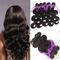 russian hair - 4 bundles unprocessed Russian body wave virgin hair grams totally to cover full head soft and boucny natural black hair