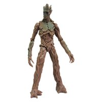 Wholesale New arrival Action Toy Figures Marvel Superhero Guardians Of The Galaxy PVC Action Figures CM Groot Model Doll