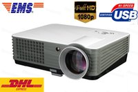 Wholesale Hotsale Lumens Home Theater Multimedia Audio Video USB HDMI P HD LCD LED D Projector Fast Shipping