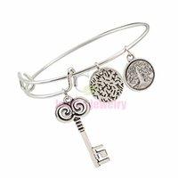 best life jewelry - bracelets bangles Alex and ani bracelets silver bangle with key symbol life tree charms jewelry for women best Bracelets jewelry