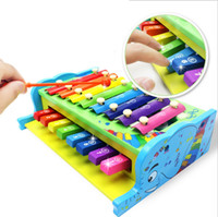 baby combo - multifunctional combo xylophone Fashion wooden toy wooden xylophone musical toy baby toddle kids wisdom development music instrument piano