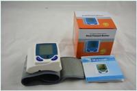 Wholesale Digital LCD Wrist Cuff Arm Blood Pressure Monitor Heart Beat Meter Machine
