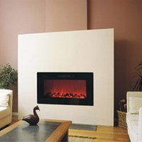Bella 10 colore della fiamma è facoltativo basso montato a parete, camino elettrico
