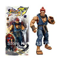 akuma street fighter - New Street Fighter IV Round Akuma quot Official PVC Action Figure In Box