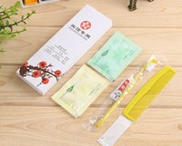 Wholesale Hotel disposable supplies Six pieces set Shampoo Shower Gel soap Comb Toothbrush Toothpaste Hotel supplies