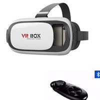 Wholesale Google cardboard Video Glasses VR BOX VR Virtual Reality D Glasses For inch Smartphone Bluetooth Controller