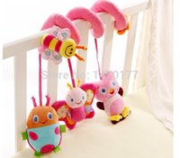 Wholesale Sozzy Musical Stars Multifunctional Car bed Hanging Ded Bell Baby toys Educational Toys Rattles for Kids Best Gift