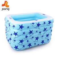 Wholesale Baby swimming pool inflatable baby swimming barrel baby s family circle bath bucket No P material with