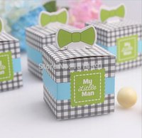baby boxs - new Wedding Candy Box Bag Party Decoration Box Sweet Candy Boxs Baby Shower Favors boy gift