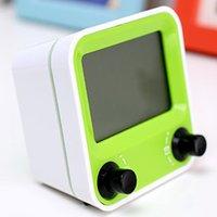 Wholesale new simple ideas Multi function lazy electronic alarm clock Silent night light LED alarm clock