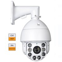 Wholesale 6 quot P HD CVI X Zoom High Speed Dome PTZ CCTV Security Camera m Array IR