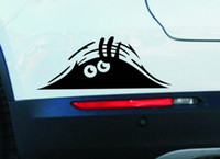 best quality vinyl windows - Best price quality cm Funny Peeking Monster Auto Car Walls Windows Sticker Graphic Vinyl Car Decals Car Stickers Accessories
