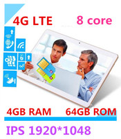Wholesale The latest version G LTE inch tablet android core processors IPS screen dual SIM card call GB memory card