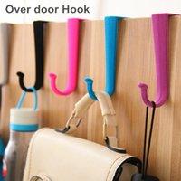 Wholesale 10 Over door Hook S hook Door hanger Clothes hook Wall hat rack Saloon Furniture Decorative Novelty household