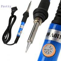 Wholesale 110V Adjustable Electric Temperature Welding Soldering Iron Tool W US Plug