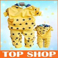 track suit - 2013 Hitz pentagram tricolor cotton track suit
