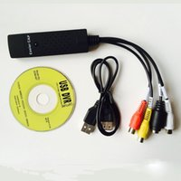 Wholesale Easier EasyCAP USB TV DVD VHS Video Audio AV Capture DC60 win Win