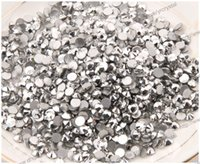 art element shape - differene MIX size Labrador color round shape Nail Art Rhinestones Glitters Non HotFix Crystals Stone
