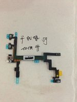 Wholesale Mobile Phone Proximity Sensor Power On Off Flex Cable Spare Parts for iPhone G