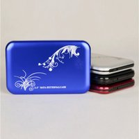 Wholesale Cheap Inch HDD Enclosures USB to SATA Portable Fashion Colors Gbps External Hard Disks Drives Enclosures MI U2