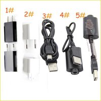 Wholesale USB Charger Kamger E Cigarette Chargers Ego Battery Charger Wall Charger for USA EU UK AU Ego Battery Charger Usb Cable Wall Adapter