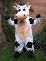 animal farm dairy - Fast customfast Professional Farm Dairy Cow Mascot Costume party dress