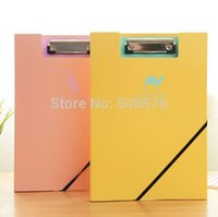 Wholesale Creative cute animal shadow design A4 clip file folder fresh style Korea stationery Filing Products office school supplies