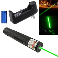 Wholesale High Quality Powerful mw nm Green Laser Pointer Pen Lazer Visible Beam Light Battery Charger