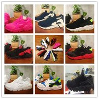 Wholesale 2015 Wallace AIR HUARACHE trainer sneakers Korean men woman breathable mesh running shoes increased Couples huraches shoes