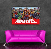 american living collection - Marvel s superhero collection anime poster adesivos x50cm quot x20 quot poster vintage