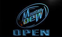 achat en gros de rosée de montagne néon-Connexion LA084-TM Mountain Dew Beer Open Bar Neon Light. La publicité. panel.jpg conduit