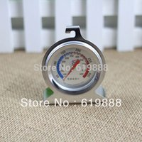 Wholesale New Stainless Steel Oven Thermometer Baking Tool Oven Temperature Sensor Fahrenheit Household Kitchen Tools