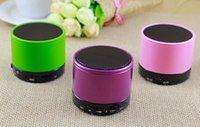 Altavoces S10 Bluetooth Wireless Mini Altavoces portátiles HI-FI Reproductor de música Home Audio para iphone 5 iphone 4 del envío del jugador de Mp3 de DHL EL ccsme