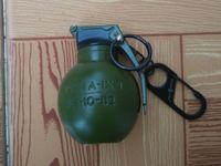 airsoft smoke grenade - M67 airsoft DUMMY Smoke Grenade type Windproof lighter Keychain