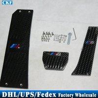 Wholesale Set Black Foot Rest Pedals MT Pads For BMW E90 E60 E87 X5 X6 F10 F30