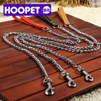 big retriever - Big dog chain leash dog leash large dogs medium dogs pet Golden Retriever Samoyed Husky chains