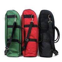 Wholesale 600D Waterproof Trumpet Gig Bag mm Cotton Padded Oxford Cloth Adjustable Single Shoulder Strap Pocket order lt no track