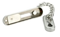 Wholesale High security Anti Thief Door Chain Lock Stainless steel chain doors buckle Protecting the family CP409