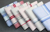cotton square scarves - Hankerchief Cotton Handkerchiefs Mens Pocket Square cm Scarfs Vintage Hankies A