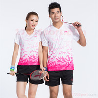 Wholesale New LI NING Tennis Shirts Breathable Lining Sport Polo Shirts Quick Dry Men Sport Shirts LN02