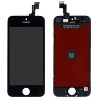 Cheap Replacement LCD Display Touch Screen Panel Digitizer Full Assembly for iPhone 5S - Black Color
