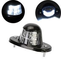 Wholesale Metal Iron License Number Plate LED Light Lamp Waterproof for Van Trailer Truck
