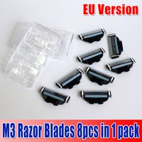 Razors - Factory Price Quality branded shaving M3 razor blade in pack razor blades for men RU and EU Version waitingyou