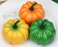 artificial pumpkin - Artificial Pumpkin Painting Model Home Decoration Photography Show Props Vegetables Artificial Pumpkin