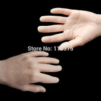 Wholesale USA Dispatch pc Art Practice Hand Model Flexible Movable Soft Fake Hand for Nail Art Training tattoo accessory supplies