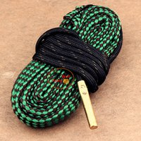 bearings supply - Bore Snake Gun Cleaning Cleaner Brass Weighted Cord Rope Fit Shotgun Rifle Pistol clean Boresnake