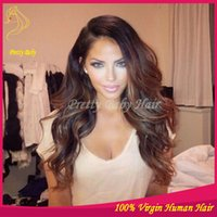 Cheap Ombre Lace Front Wigs Best Full lace Wig Ombre